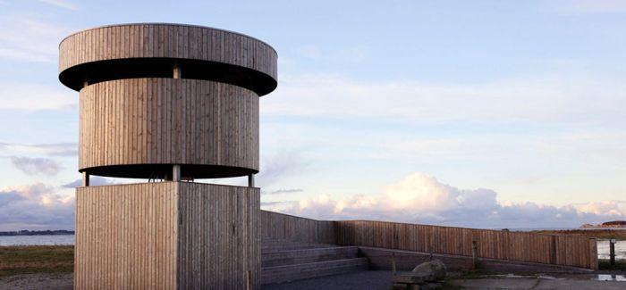 挪威木制观鸟塔:给我一个接近你的方式