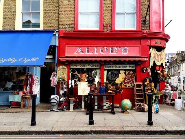 """古董市集:在伦敦""""淘""""瓷器"""