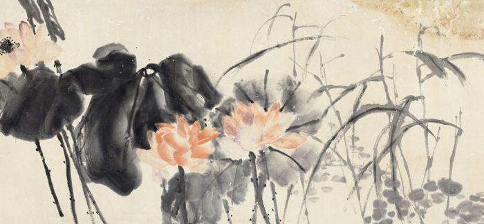 吴昌硕:风行雨散 润色开花