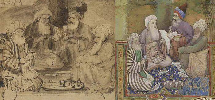 跨越时空的艺术交流!伦勃朗和他的印度灵感