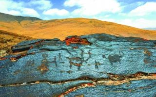 两千年前岩画现身三江源通天河流域