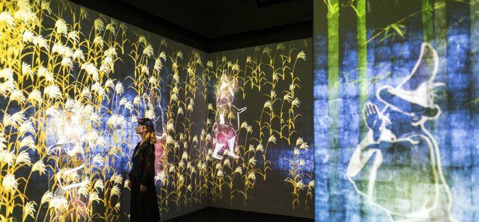 日本推出数字美术馆  让参观者感受奇妙艺术世界