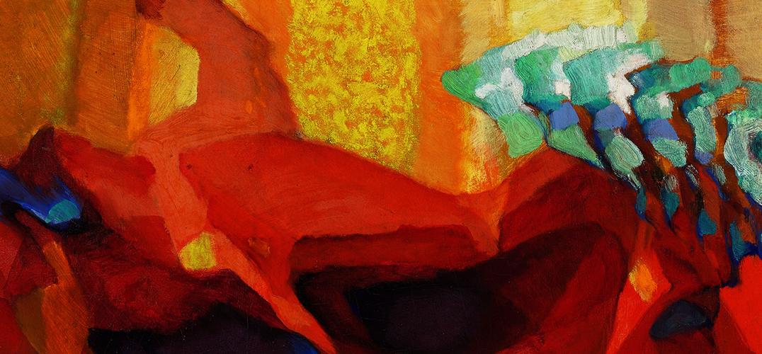走向抽象的神秘主义艺术家