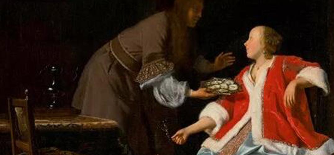 雅各布的《牡蛎餐》:西洋古典油画的趣味