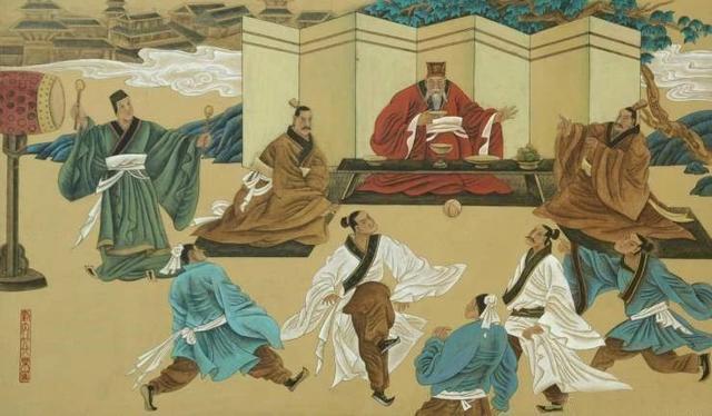 中国最早的足球——蹴鞠
