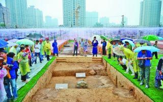 唐长安城明德门遗址保护工程启动