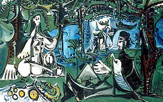 艺术家们的野餐是怎样进行的