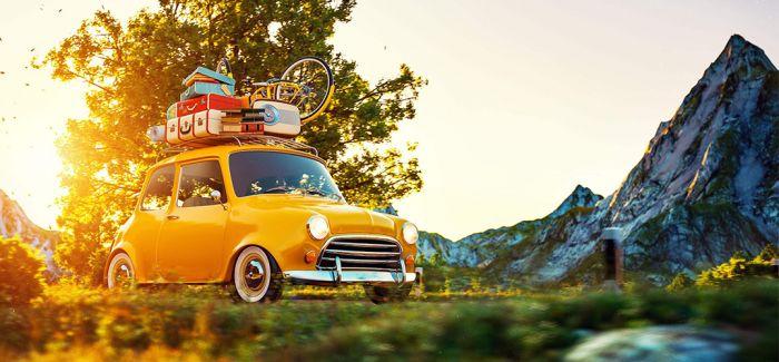 租个车 去旅游