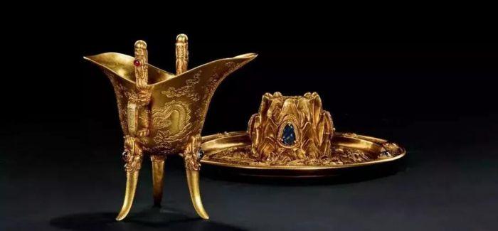 中国嘉德春拍上的名人手迹及皇家金器
