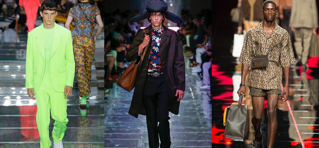 混进米兰时装周的运动风