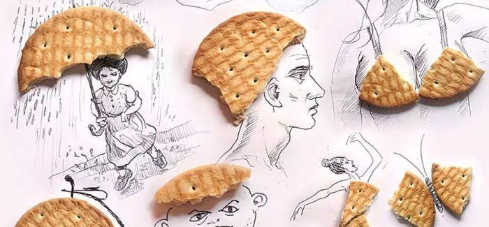 饼干能作画?这个创意有点意思!