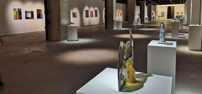 中国美术馆展出匈牙利百余件当代艺术品