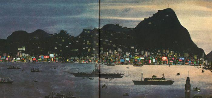 孩子眼中的香港