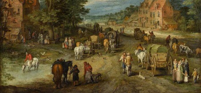 鲁本斯充满神秘感肖像领衔西洋古典油画晚拍