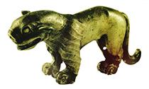 惟妙惟肖的战国时期圆雕动物银饰