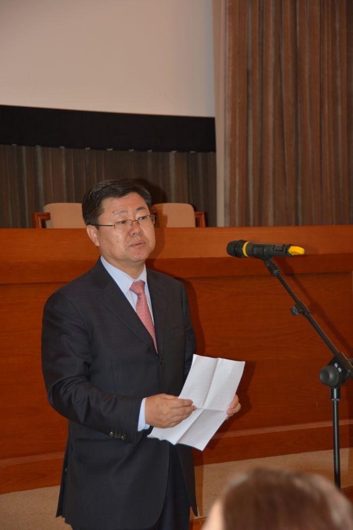 中国政府上海合作组织事务特别代表、上合组织中方国家协调员孙立杰致辞