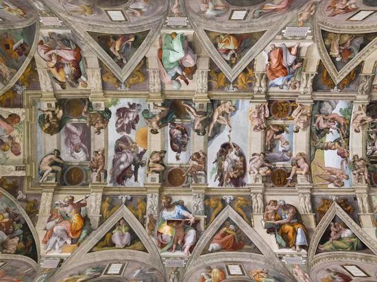 西斯廷礼拜堂的天顶画