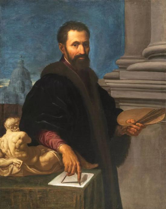 米开朗基罗的肖像