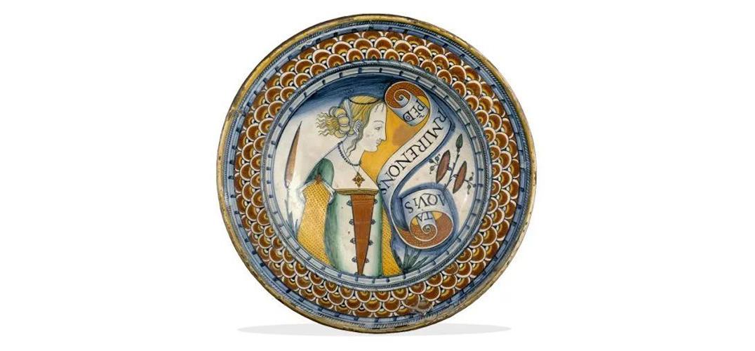 餐桌之上 隽永别致的马约里卡陶器