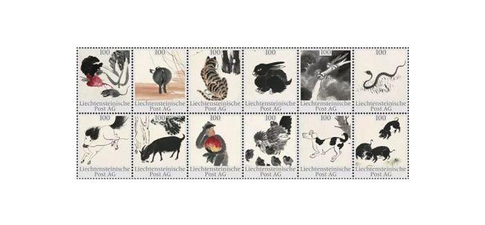 齐白石邮票!在欧洲讲述中国的故事