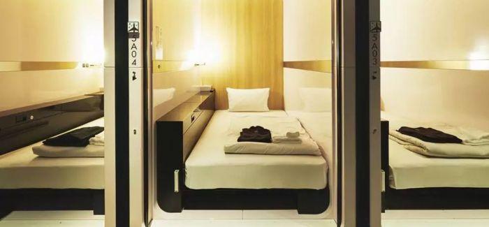 你想要住哪一间胶囊旅馆?