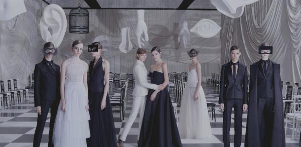 Christian Dior 高定系列 图片来自品牌