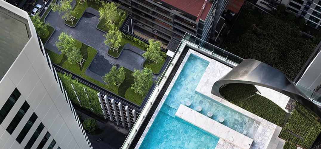 让建筑与植物共生