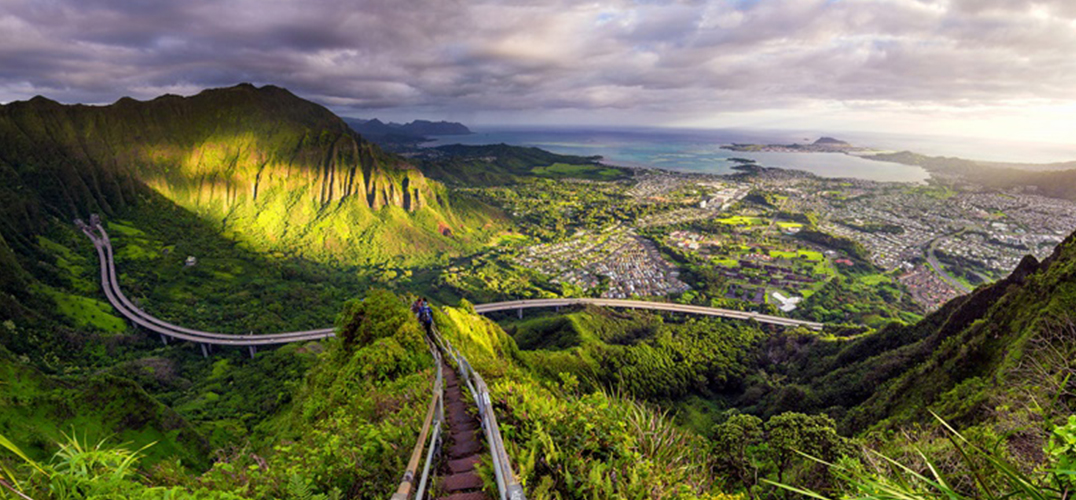 永远阳光灿烂的夏威夷古兰尼牧场
