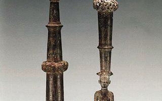 古越之相 寓于青铜鸠杖之中