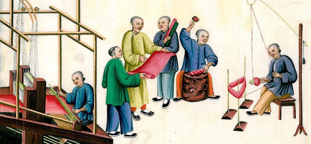 中国丝绸从中国到希腊的流传旅程