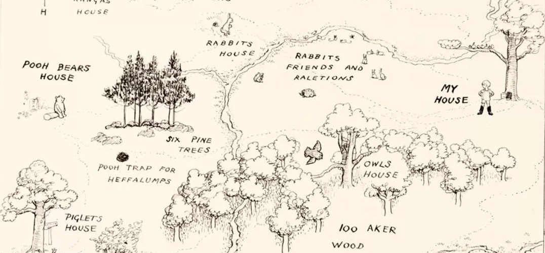 小熊维尼故事背景地图将亮相拍场