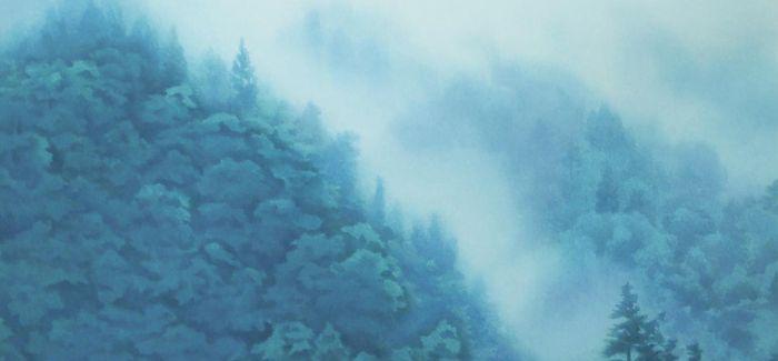 """这是一幅清澈而富有幻想的""""祈祷"""""""