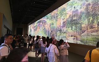 故宫凤凰版《清明上河图3.0》国际博物馆日故宫开展