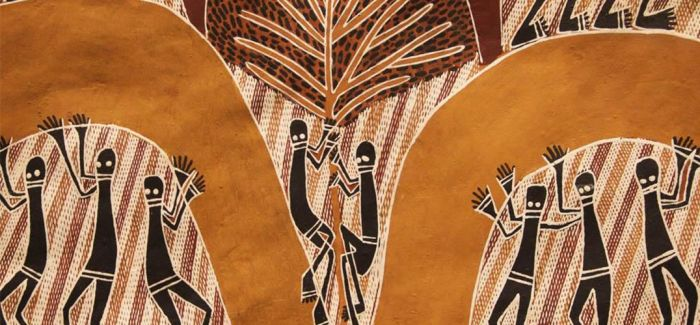 澳大利亚国宝树皮画亮相国家博物馆
