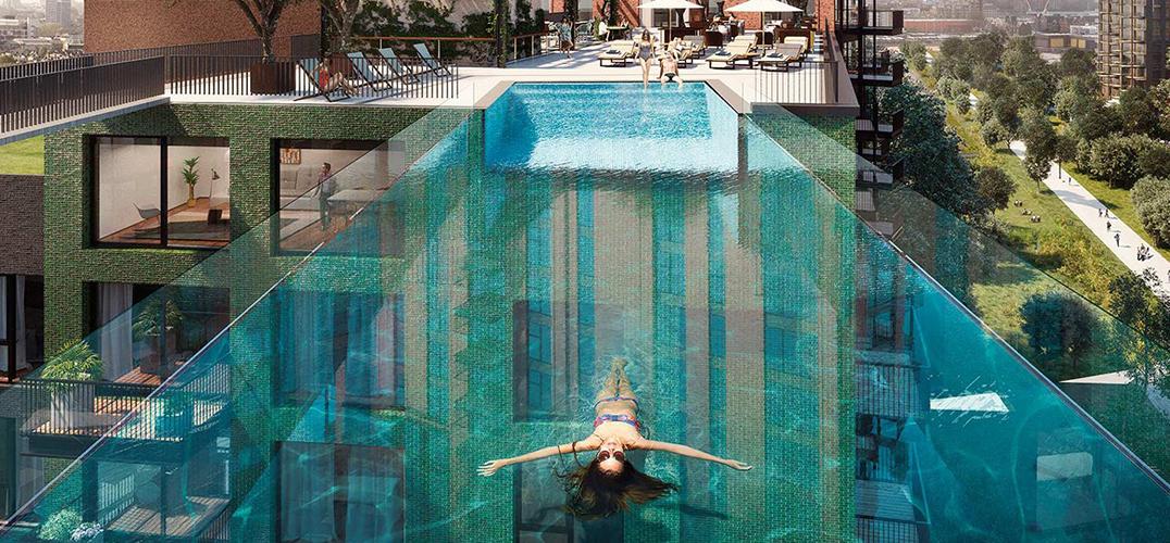 气温不断升高 这些泳池设计也让人惊喜连连