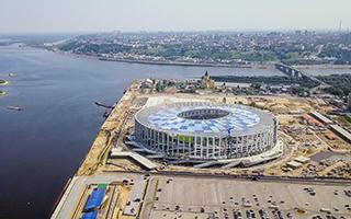 俄罗斯世界杯球场巡礼 萨马拉宇宙竞技场