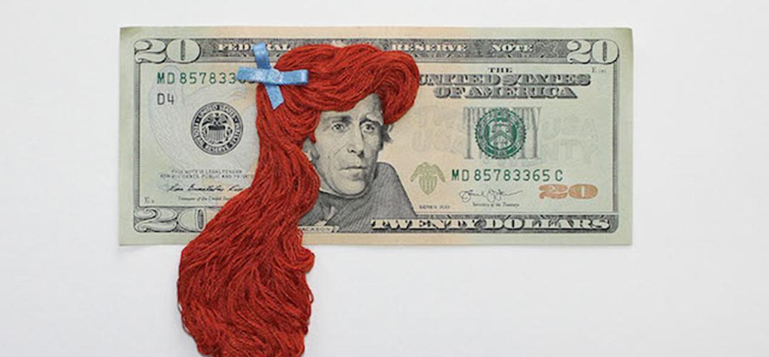"""钞票上的大人物也要""""换发型"""""""