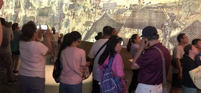 故宫《清明上河图3.0》热 中国画启蒙势在必行