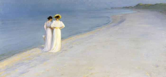 艺术家的夏日海滩