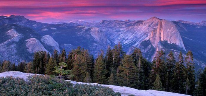 《啊 美》纪念邮票中的自然美景