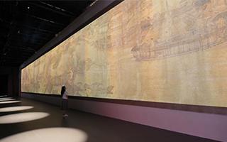《清明上河图3.0》科技展演在故宫开幕