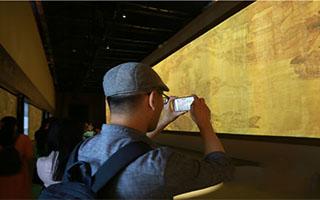 故宫用高科技手段展演《清明上河图》