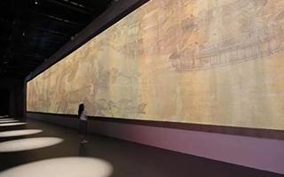 高科技互动艺术展演《清明上河图3.0》于故宫开幕!
