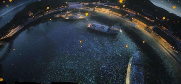 人在画中行 在故宫与《清明上河图》互动