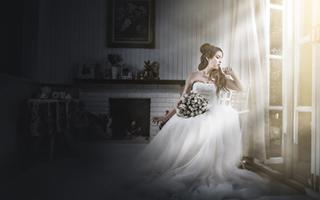把婚礼变成一种艺术展