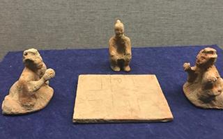 中华古代体育文物展在扬州博物馆开展