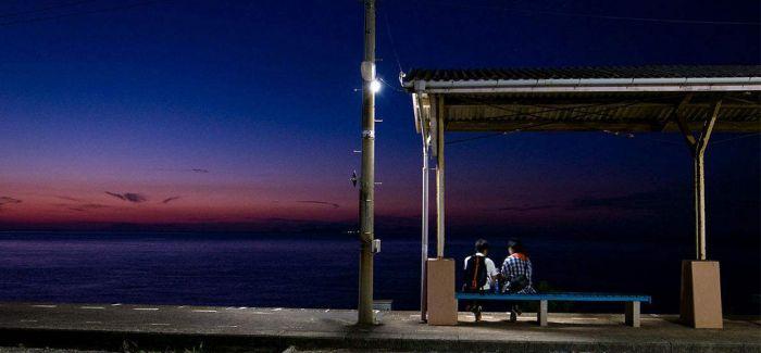日本海边车站 只想和你一起去