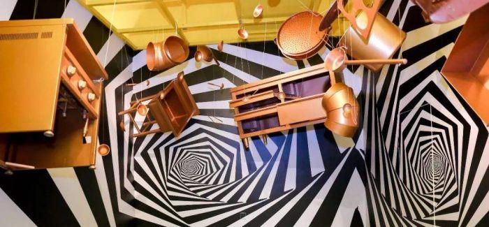 高科技展览采用沉浸式 将参观者置于展品之中