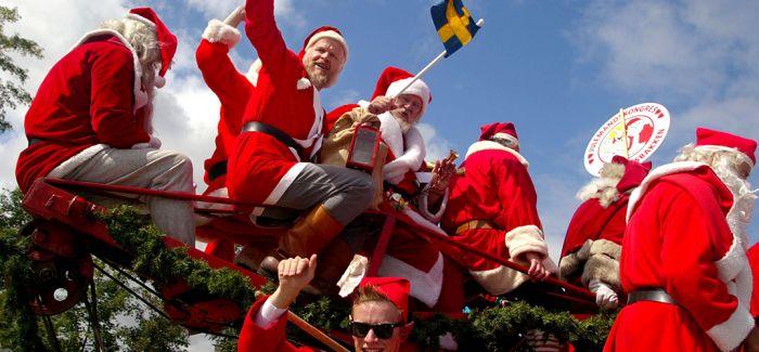 """圣诞老人的世界里没有""""酷暑"""""""