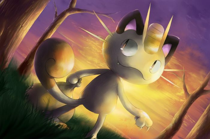 sunset_meowth_by_nintendo_jr-d93h2cg